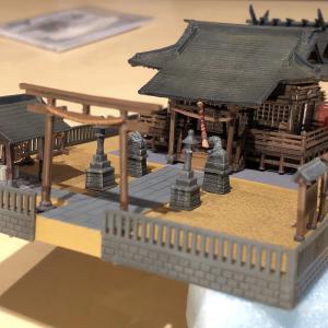 第11回 ジオコレ神社の組み立て①