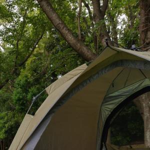 【QUICKCAMP】ワンタッチテントでラクチン設営!公園とキャンプで使ってみた