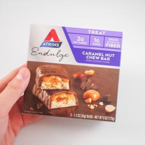 アトキンスバーは糖質制限ダイエットの強い味方【低糖質なおやつ】