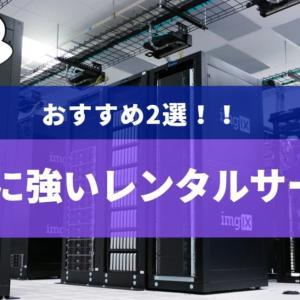 『初心者向け』SEOに強いレンタルサーバー【おすすめ2選】