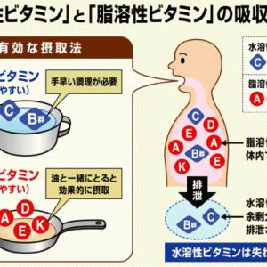 ビタミンその②:水溶性ビタミン(前半)