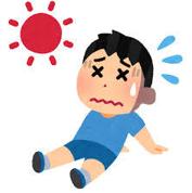 暑い日のランニング