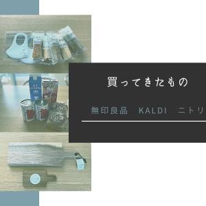 購入品【無印良品、KALDI、ニトリ】