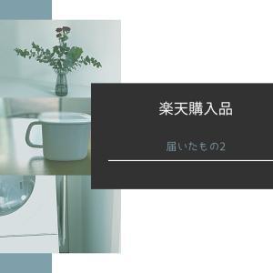 【楽天購入品】とどいたものvo.2