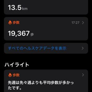 171日目 今日の1日を振り返りつつ、歩数を見る。