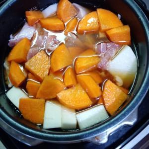 電気圧力鍋で超簡単!鶏肉の麺つゆ煮