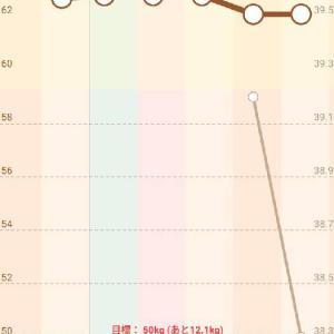 衝撃の体脂肪率・・・