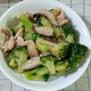 冷凍野菜で簡単!ブロッコリーと豚バラ炒め♪