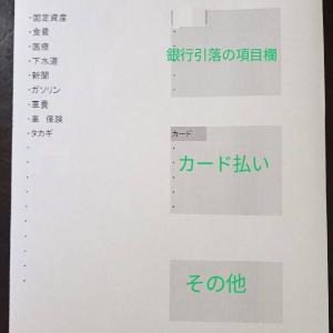 ざっくり(すぎる)家計簿