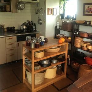 古い台所の収納方法
