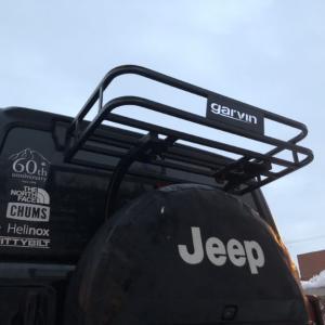 【JLラングラー】garvinのトレイルラックで積載力UP!