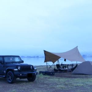 初めての湖畔キャンプ!*2日目【天神浜オートキャンプ場】