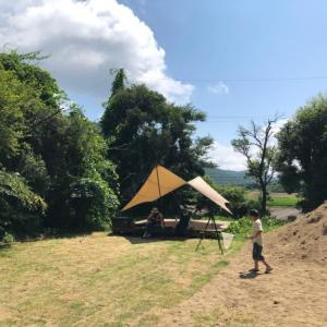 学校跡地で夏キャンプ!*2日目【ROOTS CAMP SITE】
