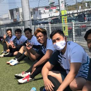 帰国前最後のサッカー活動