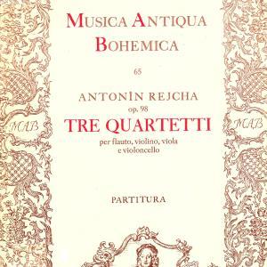 ライヒャ:フルート四重奏曲 ハ長調 作品98の2