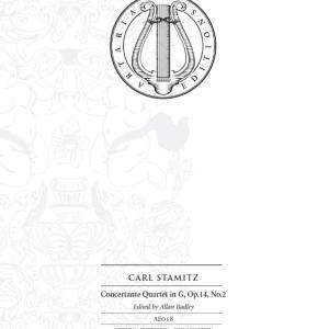 C.シュターミッツ:協奏的四重奏曲 ト長調 作品14の2
