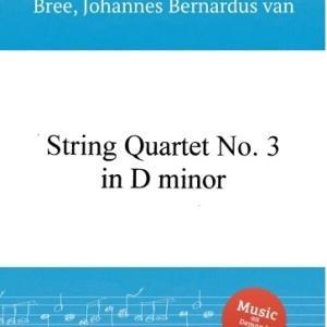 【赤いサラファン】ファン・ブレー:弦楽四重奏曲 第3番 二短調 (1848)