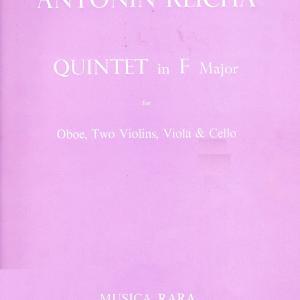 ライヒャ(レイハ):オーボエ五重奏曲 ヘ長調 作品107
