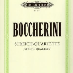 ボッケリーニ:弦楽四重奏曲 ト短調 G.205 作品32の5
