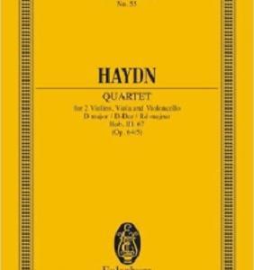 【俳句のリズム】ハイドン:弦楽四重奏曲「ひばり」ニ長調 作品64の5