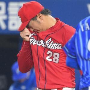 堂林の悪送球とスタメン落ちは因果関係があるのか?床田が8敗目。なぜ「敗戦投手」になってしまうのか?