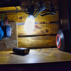 【自転車キャンプ、驚異の実測3gランタン】モンベル mont-bell クラッシャブル ランタンシェード