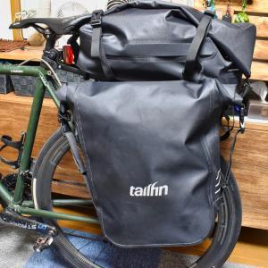【ロードバイク 大容量パニアバッグ トラックバック】テイルフィンTailfin + AeroPack TRUNK