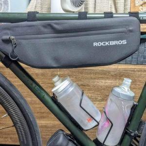 【お手頃価格のフレームバッグ】ROCKBROS フレームバッグ 3L&4L