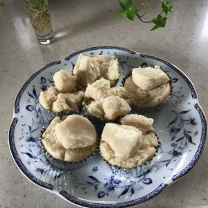 休日・米粉の蒸しパン
