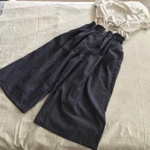 スカートのようなパンツ・完成