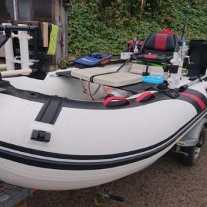 艤装チャレンジ ゴムボート用キャスティングレール