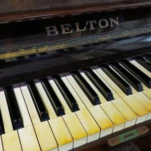 実家のピアノ(BELTON)を弾いてきた