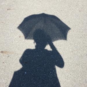 日傘が気になるお年頃