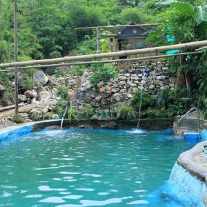 フィリピン紀行  プール遊び