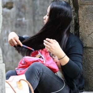 フィリピン紀行 長い黒髪