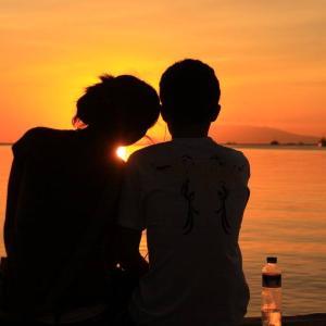 フィリピン紀行  マニラ湾の夕景