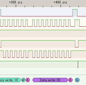 I2C学習 - 4-5-5 --- コンディション検出処理の波形デバッグ(問題なし)
