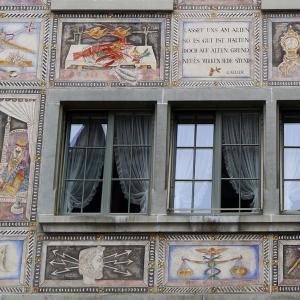カリジェの壁画に隠されたスイスの伝統!