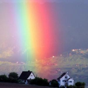 虹の彼方に!女神からのメッセージ
