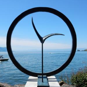 レマン湖畔で魅せる町!- モントルー
