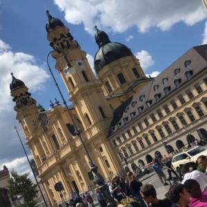コロナから戻りつつあるドイツの日常~ミュンヘン街歩き~
