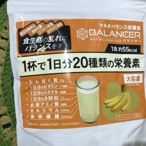 4日目:バランサー豆乳(投入)