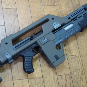 S&T(SNOW WOLF) 1/1 M41A パルスライフル 電動ガン SW-11