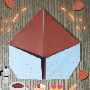 【折り紙】栗【カンタン!小学校低学年でも作れる!】秋・野菜のおりがみ