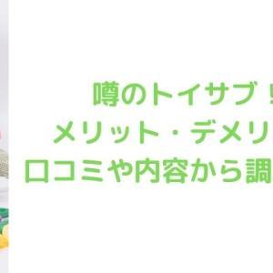 【知育玩具定額レンタル】トイサブ!の口コミや特徴を徹底検証