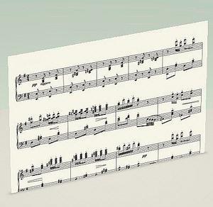 ピアノ譜の覚え書き1