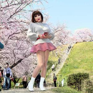 【留美子讃歌 16】素晴らしい風景と美女 素敵なコラボ
