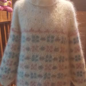 ドログリの毛糸で編みました
