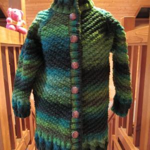 編み物と今日のワン