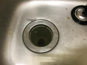 【広島市中区東白島町】流し台排水管切断を伴う異物除去